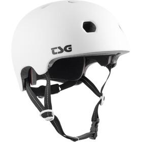 TSG Meta Solid Color Helm satin white